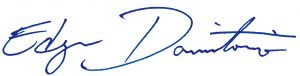 Edgar J. Dormitorio signature