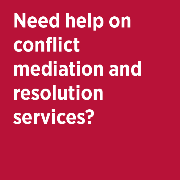 Need help on conflict mediation and resolution services? Office of the Ombudsman Phone 824-7256 Location 205 Multipurpose Science & Tech Bldg.